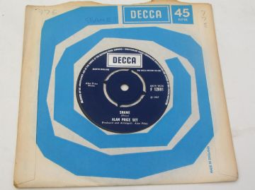 "Alan Price Set SHAME 1967 UK 7"" EX+ AUDIO"